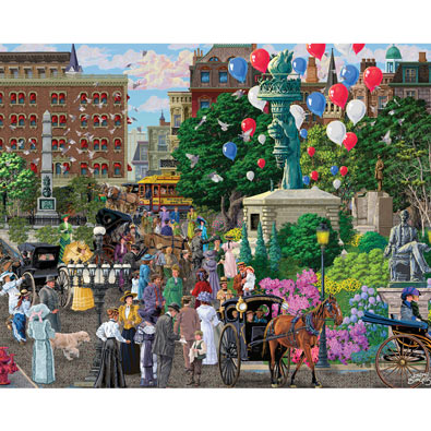 Broadway and 5th Avenue 1000 Piece Jigsaw Puzzle