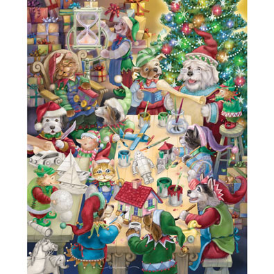 North Pole Pets 1000 Piece Jigsaw Puzzle