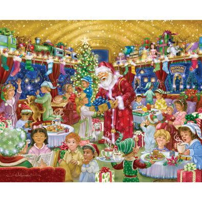Rudolph Express 1000 Piece Jigsaw Puzzle