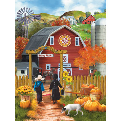 Valley Farm 500 Piece Jigsaw Puzzle