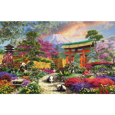 Fuji Floral 550 Piece Jigsaw Puzzle