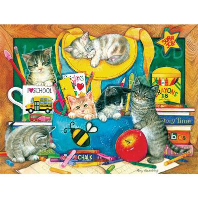Classroom Kittens 500 Piece Jigsaw Puzzle