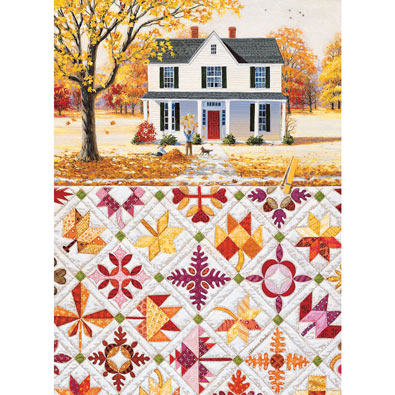 Autumn Leaves 500 Piece Jigsaw Puzzle