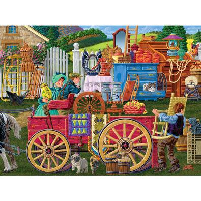 Vintage Yard Sale 1000 Piece Jigsaw Puzzle