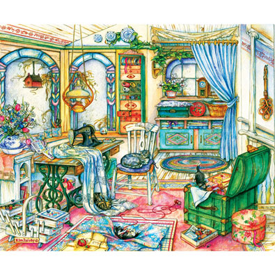 My Sewing Room 1000 Piece Jigsaw Puzzle