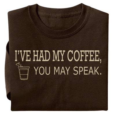 Coffee Novelty T-shirt