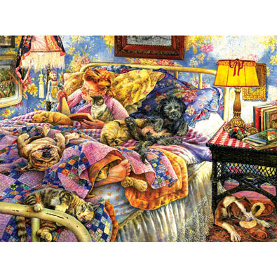 Pet Bed 1000 Piece Jigsaw Puzzle Spilsbury