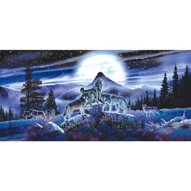 Night Wolves 1000 Piece Jigsaw Puzzle
