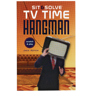 TV Time Hangman Puzzle Book
