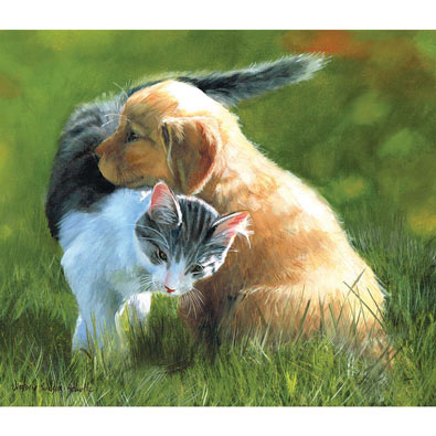 Perfect Friendship 200 Large Piece Jigsaw Puzzle