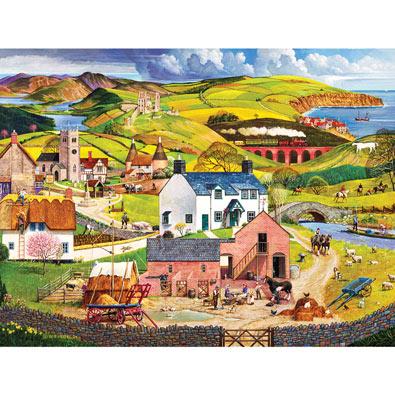 England 500 Piece Jigsaw Puzzle