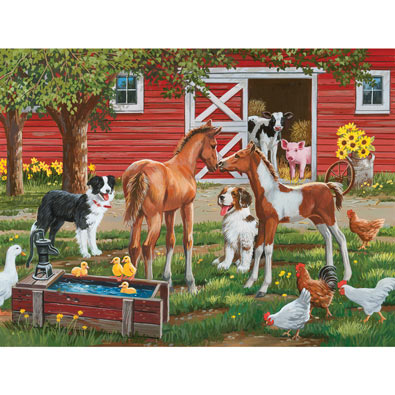 Welcome the New Pony 300 Large Piece Jigsaw Puzzle
