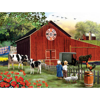 Serenity in the Country 300 Large Piece Jigsaw Puzzle