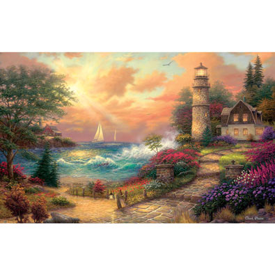 Seaside Dreams 300 Large Piece Jigsaw Puzzle