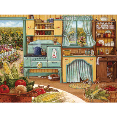 Country Kitchen 1000 Piece Jigsaw Puzzle