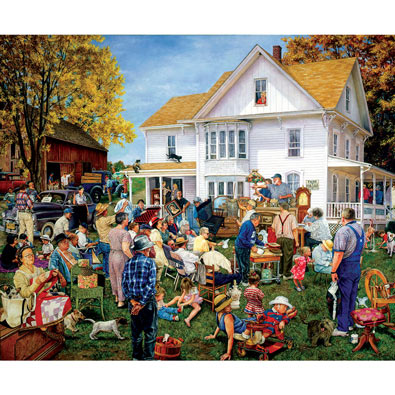 Farmhouse Auction 1000 Piece Jigsaw Puzzle