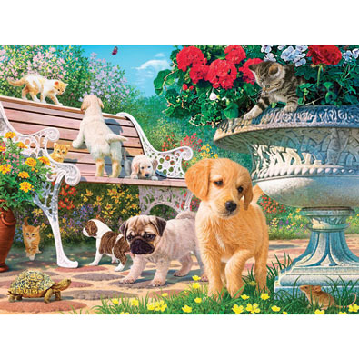 Afternoon at the Park 550 Piece Jigsaw Puzzle