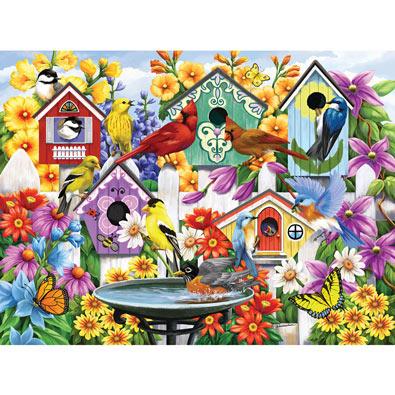 Garden Neighbors 500 Piece Jigsaw Puzzle
