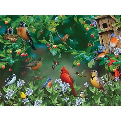 Bird Festival 300 Large Piece Jigsaw Puzzle
