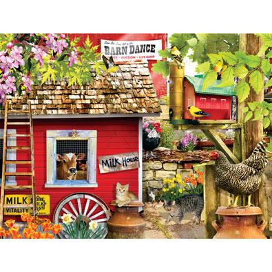 The Milk House 300 Large Piece Jigsaw Puzzle