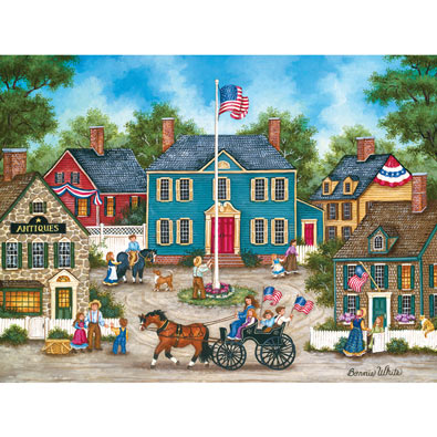 Raising the Flag 550 Piece Jigsaw Puzzle