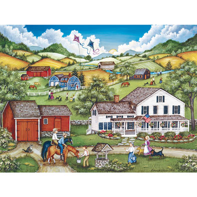 The Homecoming 550 Piece Jigsaw Puzzle