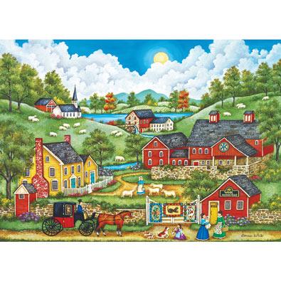 A Roadside Visit 1000 Piece Jigsaw Puzzle