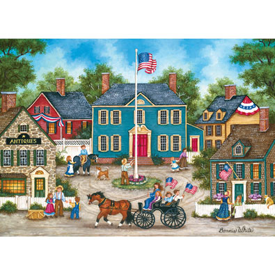 Raising the Flag 1000 Piece Jigsaw Puzzle