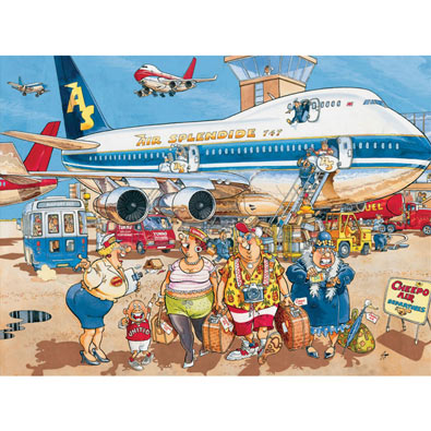 Happy Holidays 1000 Piece Wasgij Jigsaw Puzzle