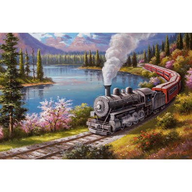 Scenic Route 750 Piece Jigsaw Puzzle