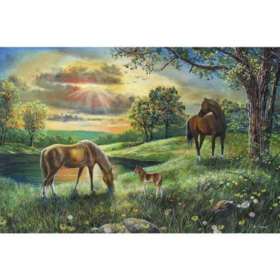 Spirit of Three Horses 1000 Piece Jigsaw Puzzle