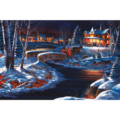 Over the River 1000 Piece Jigsaw Puzzle