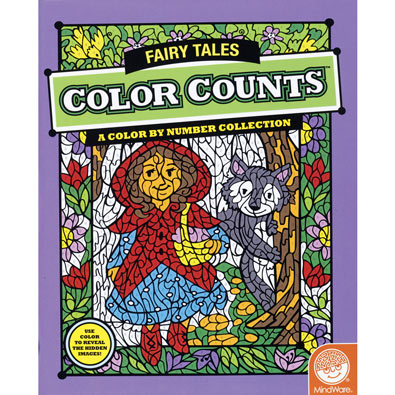 Fairy Tales - Color Counts Book
