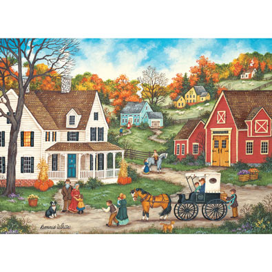 Thanksgiving at Grandma's 1000 Piece Jigsaw Puzzle
