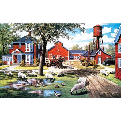 Farmyard Companions 300 Large Piece Jigsaw Puzzle