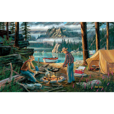 Alaska Adventure 300 Large Piece Jigsaw Puzzle