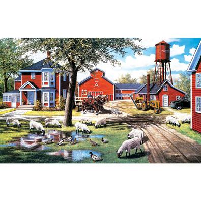 Farmyard Companions 550 Piece Jigsaw Puzzle