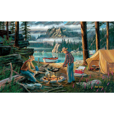 Alaska Adventure 550 Piece Jigsaw Puzzle