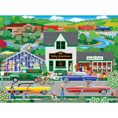 Flowers from the Valley 300 Large Piece Jigsaw Puzzle