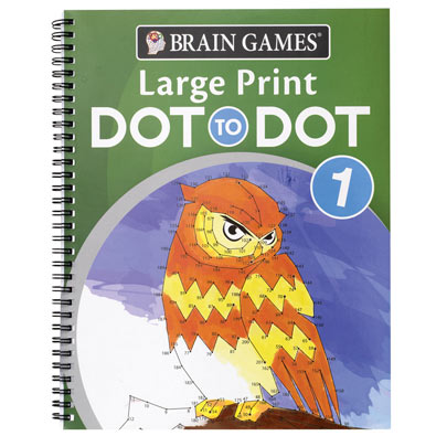 Large Print Dot to Dot Books - Volume 1