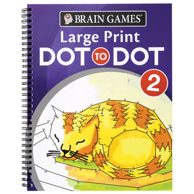 Large Print Dot to Dot Books - Volume 2