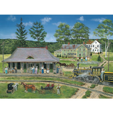 Canaan Station 300 Large Piece Jigsaw Puzzle