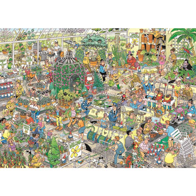 Garden Center 1000 Piece Jigsaw Puzzle