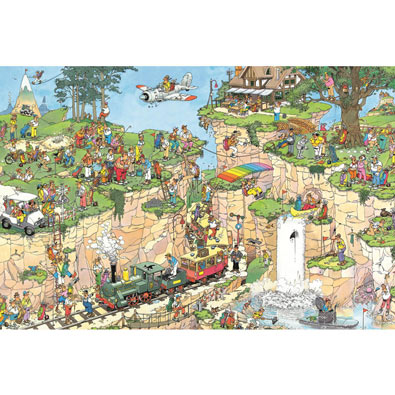 The Golf Course 1500 Piece Jigsaw Puzzle