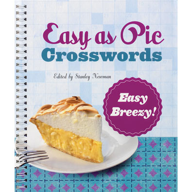 Easy As Pie Crossword Book- Easy Breezy