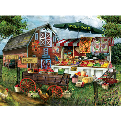 Fresh Country Produce 1000 Piece Jigsaw Puzzle