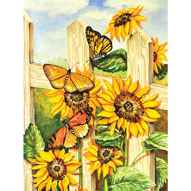 Painted Ladies 1000 Piece Jigsaw Puzzle