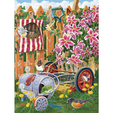 A Fine Nesting Place 1000 Piece Jigsaw Puzzle