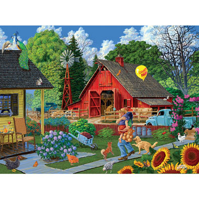 Buy Home From The Fair 1000 Piece Jigsaw Puzzle At Spilsbury