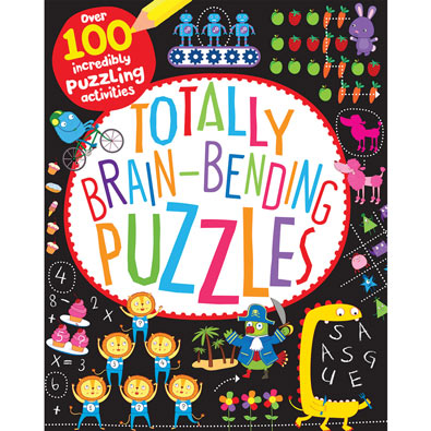 Brain-Bending Puzzles Book